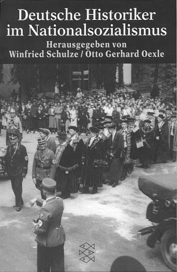 """Umschlag des Sammelbandes """"Deutsche Historiker im Nationalsozialismus"""""""