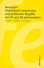W. Baumgart: Wörterbuch historischer und politischer Begriffe